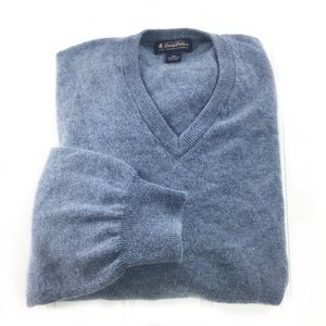 Brooks Brothers 3-Ply Italian Cashmere Sweater 2XL